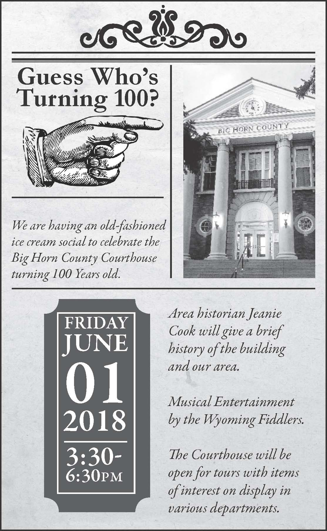 Courthouse 100 Year Celebration