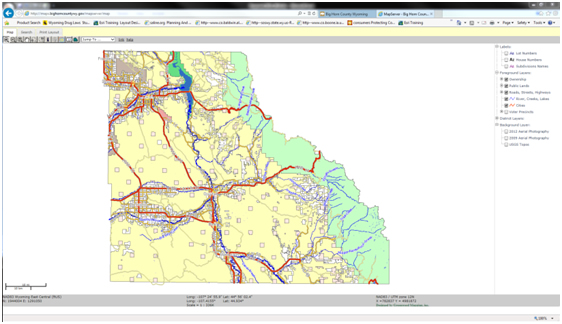 Fremont County Wyoming Map Server.Gis